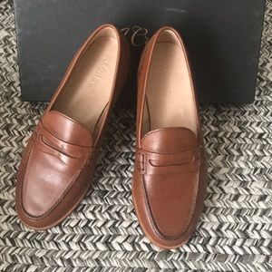 J.Crew Leather Loafers (like new)